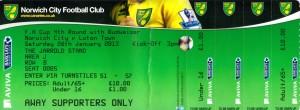Norwich ticket