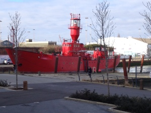 Lightship 21 in Gillingham