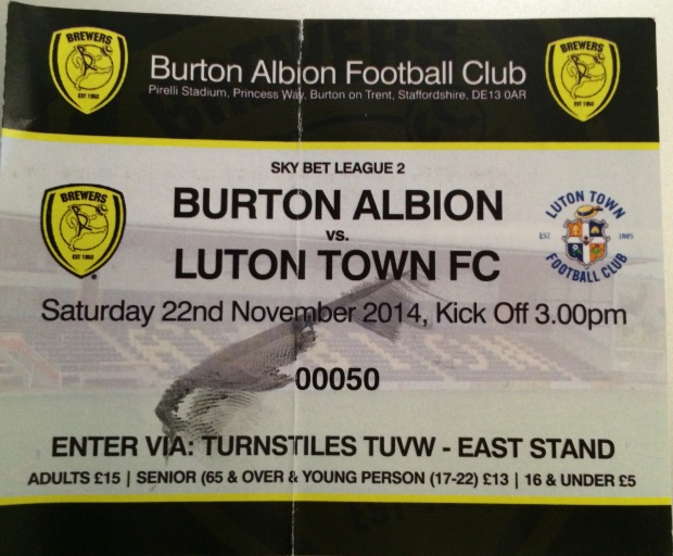 burton ticket