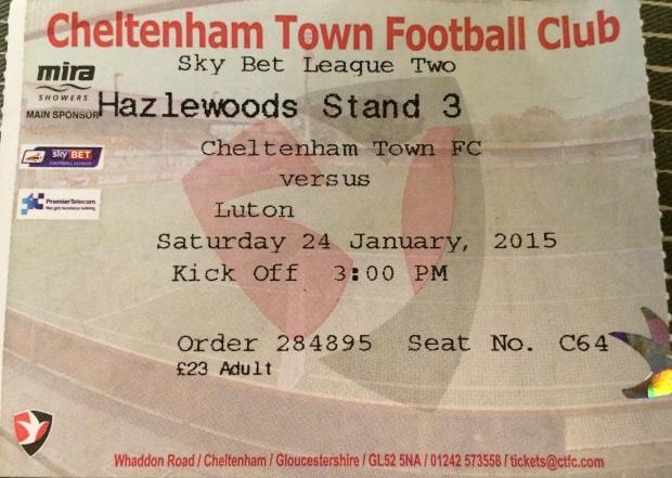 cheltenham ticket