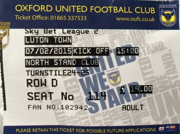 oxford ticket